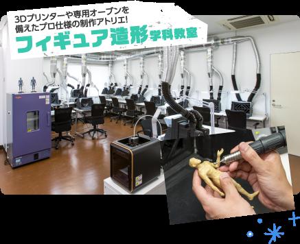 フィギュア造形学科教室